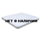 Матраc надувной Comfort Plus King сероголубой/черный, 200х185х20 см, 4.5 кг, 350 кг нагрузка, 40027