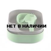 Портативный набор посуды CAMP-A-BOX LIGHT GREEN (BIO) series SUGARCANE, 6201