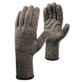Перчатки «Ворса» акриловые двойные с внутренним начесом, удлиненный манжет, двойной оверлок