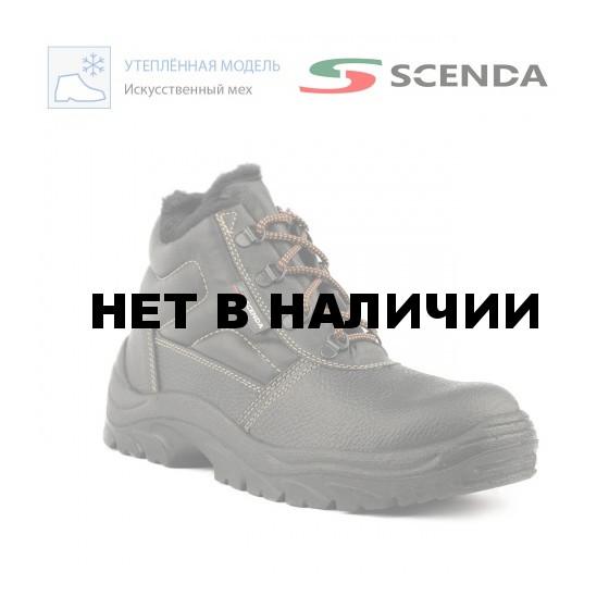 Ботинки кожаные Стикс ПУ утепленные с МП