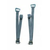 Съемные нижние затяжки для серии рюкзаков 2 шт. BASK NOMAD темно-серые