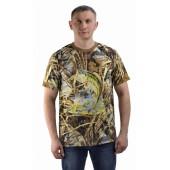 Футболка Рыбак, рыба, камуфляж. Мир футболок
