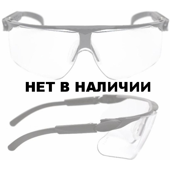 Очки поликарбонатные 3М Maxim (прозрачные)