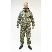 Костюм МАСКХАЛАТ-Хлопок куртка/брюки, ткань Бязь 100%Х/Б, камуфляж Цифра НАТО