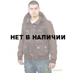 Куртка кожаная МК/17-3К Emora Brown