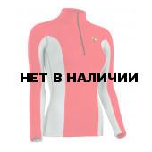 Термобелье куртка BASK T-SKIN LADY JACKET красный/серый свтл
