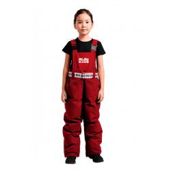 Полукомбинезон пуховый детский BASK kids NARVI красный