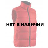 Мужской пуховой жилет BASK MERU красный