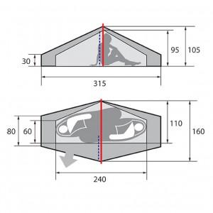 Палатка Phantom v.2 цифровая флора
