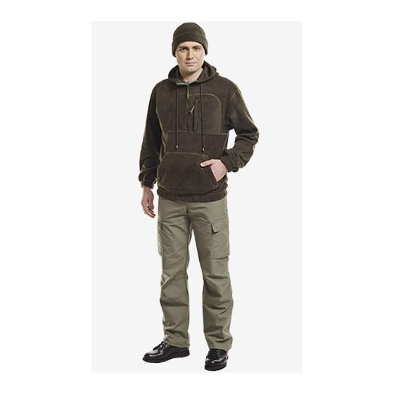 Толстовка мужская с капюшоном флис 4210А
