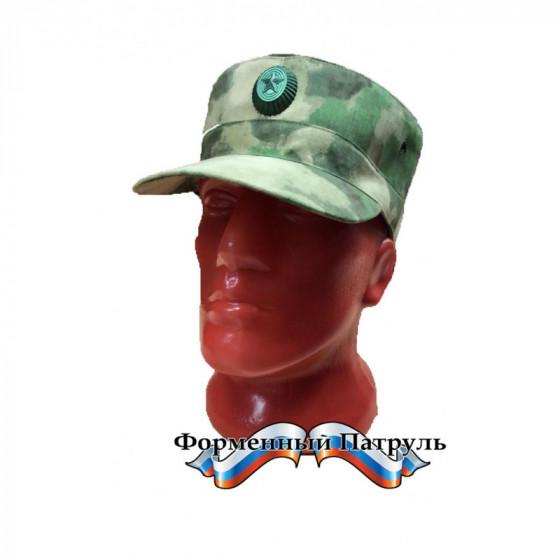 Кепка Росгвардия (цвет зелёный мох, ткань Peach effect, без кокарды)