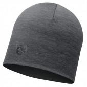 Шапка Buff Heavyweight Merino Wool Hat Solid Grey 113028.937.10.00