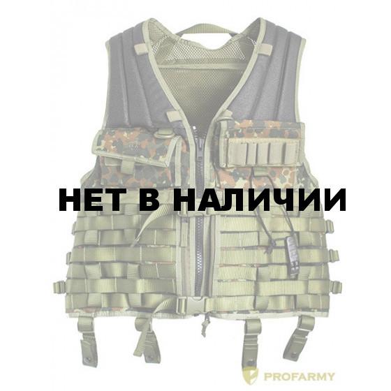 Жилет разгрузочный (flecktarn) 7610.032,