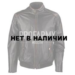 Куртка демисезонная из натуральной кожи Madras Black