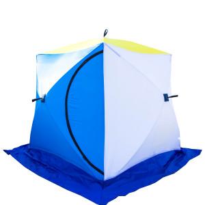 Палатка-куб зимняя СТЭК КУБ-2 (трехслойная) дышащая