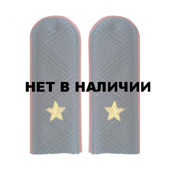 Погоны УИС (ФСИН) генерал-майор с хлястиком повседневные