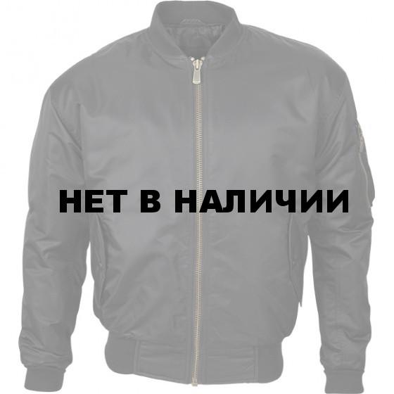 Куртка Пилот черная твил