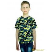 Футболка детская Yellow Camo короткий рукав