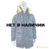 Куртка зимняя офисная синяя
