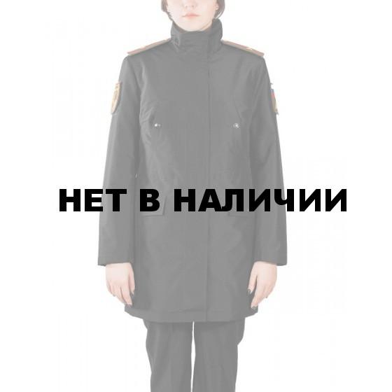 Куртка женская демисезонная МПА-59 (черный/рип-стоп)