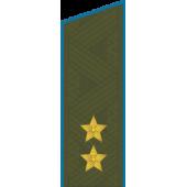 Погоны ВКС-ВВС-ВДВ генерал-лейтенант на китель повседневные