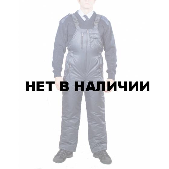 Полукомбинезон Полиция зимний (твил/файбертек)