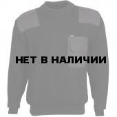 Свитер с накладками арт.с81 черный