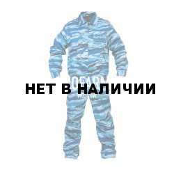 Костюм ГЕФЕСТ летний охрана (синий камыш)