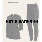 Комплект термобелья для девочек Laplandic: рубашка + лосины (A51-S-BK / A51-P-BK)