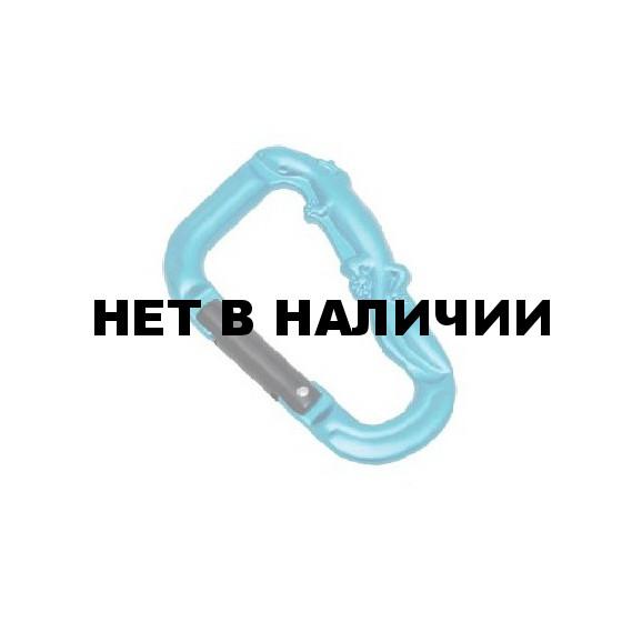 Карабин Ящерица чеканный(рельефный) (упак=10 шт), 3293