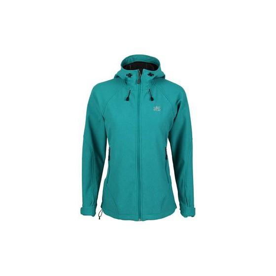 Куртка женская Glory Soft Shell изумрудный меланж