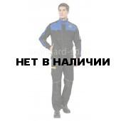 Куртка Старт цвет черный/василек