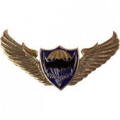 Нагрудный знак ВДВ крылья парашют мышь спецназ металл