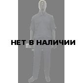 Костюм РОСГВАРДИЯ штабной с коротким рукавомцвет синий (ткань габардин) МПА-136-01