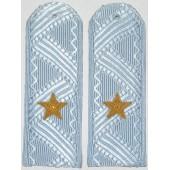 Погоны Полиция генерал-майор на серо-голубую рубашку повседневные