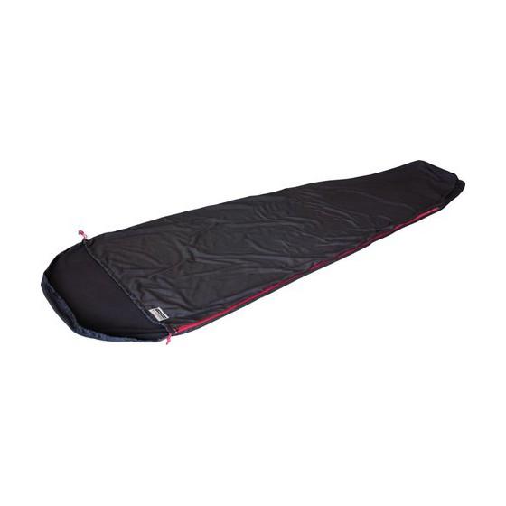 Вставка в мешок спальный Nanuk Inlett Mumie чёрный, длина 220см, 23512