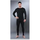 Комплект мужского термобелья Guahoo: рубашка + кальсоны (650-S/BK / 650-P/BK)