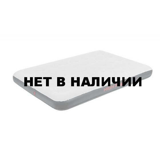 Матрас надувной Air bed Double светло-серый/темно-серый, 197х138х20 см, 40034