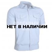 Рубашка форменная, короткий рукав, голубой