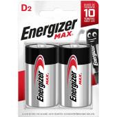 Батарейки Energizer MAX D (2шт)