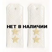 Погоны ПС ФСБ генерал-лейтенант на белую рубашку повседневные