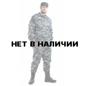 """Костюм мужской """"Спецназ"""", ткань смесовая РИП-СТОП """"Серый вихрь"""""""