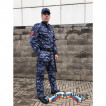 Брюки Росгвардия демисезонные цвет синяя точка (мембрана рип-стоп/стежка)