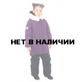 Куртка пуховая BASK kids для девочки TITANIA фиолетовая