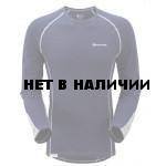 Футболка мужская BIONIC L/S T-SHIRT,S ink/silver, MBLSTINKB0