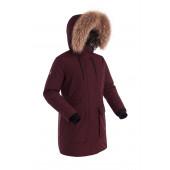 Куртка пуховая женская BASK LYRA бордовая