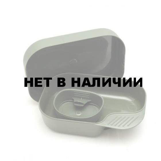 Портативный набор посуды CAMP-A-BOX® BASIC OLIVE GREEN, W30264