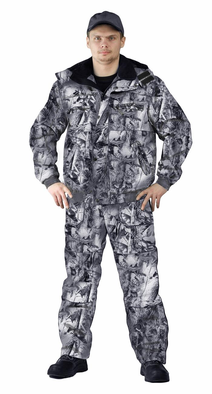 d478ee79d437 Костюм зимний «ВИХРЬ» куртка/полукомб. цвет:, камуфляж зимний дубок ...