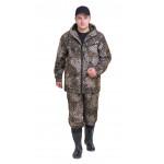 Костюм РОВЕР куртка/брюки, цвет:, камуфляж Трофи, ткань : Полофлис