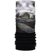123700.999.10.00 Бандана Buff Mountain Collection Polar 3 Cime Black (US:one size)